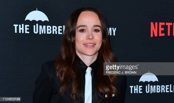 From the cast actress Ellen Page arrives for the premiere of Netflix's The Umbrella Academy Season 1 in Hollywood on February 12 2019 The Umbrella...