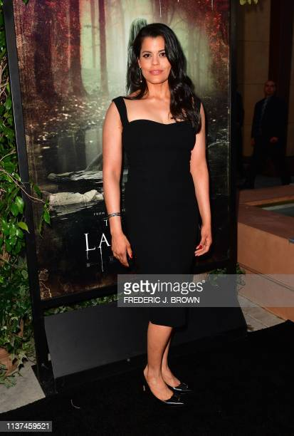 From the cast actress Marisol Ramirez arrives for the premiere of The Curse of La Llorona at the Egyptian Theater in Hollywood on April 15 2019