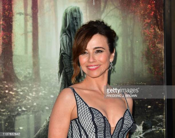 From the cast US actress Linda Cardellini arrives for the premiere of The Curse of La Llorona at the Egyptian Theater in Hollywood on April 15 2019