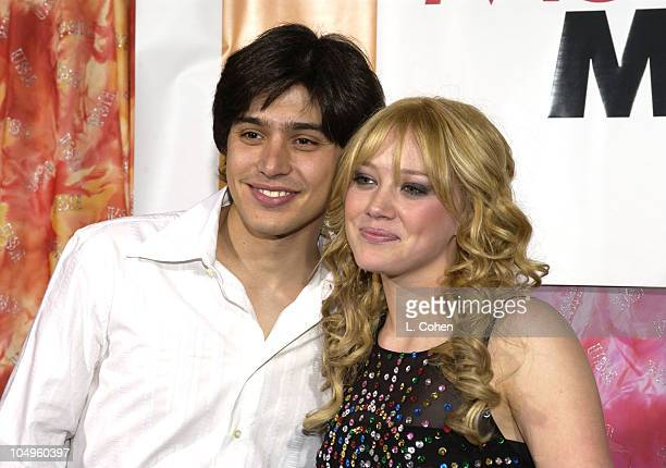 From the cast Yani Gellman Hilary Duff during The Lizzie McGuire Movie Premiere at The El Capitan Theater in Hollywood California United States