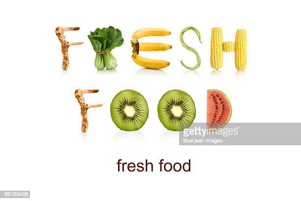 From the Health-abet, fresh food