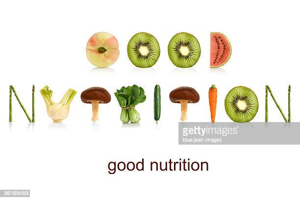 From the Health-abet, good nutrition