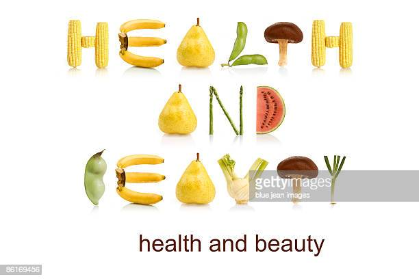 From the Health-abet, health and beauty