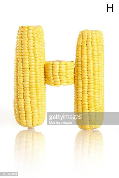 From the Health-abet, the Letter H, corn.