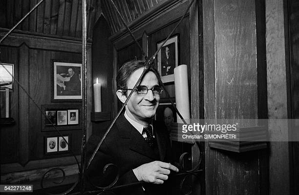 Francois Truffaut on Set of The Green Room Pictures | Getty Images
