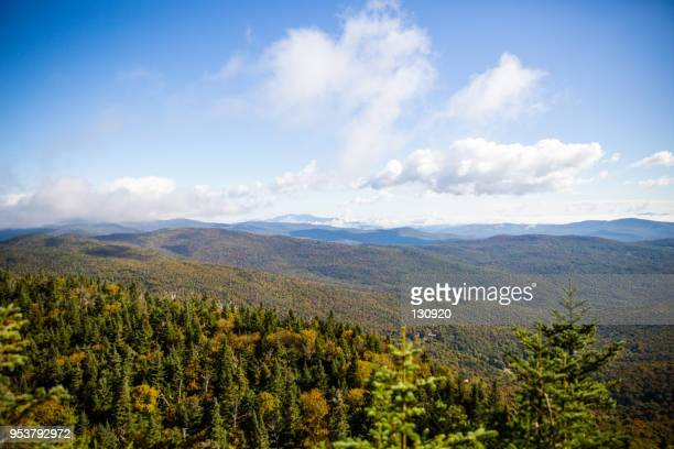 from the mountain top - burlington vermont stock photos and pictures