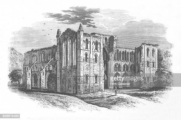 From the North' Rievaulx Abbey c1880 From The Ruined Abbeys of Britain by Frederick Ross [William Mackenzie London 1897] Artist Alexander Francis...