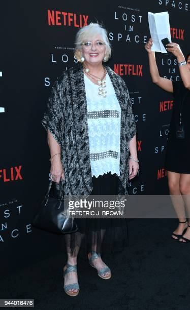 From the original Lost In Space cast actress Angela Cartwright arrives for Netflix's Lost In Space Season 1 Premiere event in Los Angeles California...