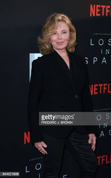From the original Lost In Space cast actress Marta Kristen arrives for Netflix's Lost In Space Season 1 Premiere event in Los Angeles California on...