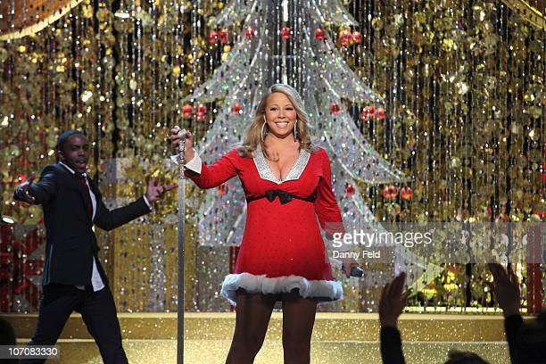 From the Orpheum Theater in Los Angeles, Walt Disney Television via Getty Images Television Network presents international superstar Mariah Carey in...