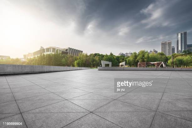 from the platform, we can see the urban architecture of wuhan, wuhan, hubei province, china. - grounds stock pictures, royalty-free photos & images