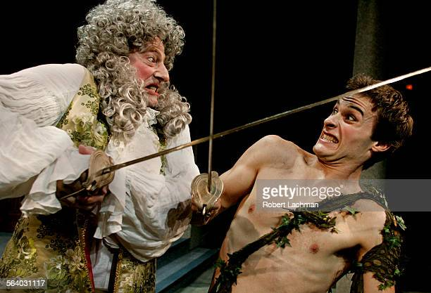 From the play Bach at Leipzig at South Coast Repertory in Costa Mesa Timothy Landfield as Johann Christoph Graupner and Erik Sorensen as Johann...