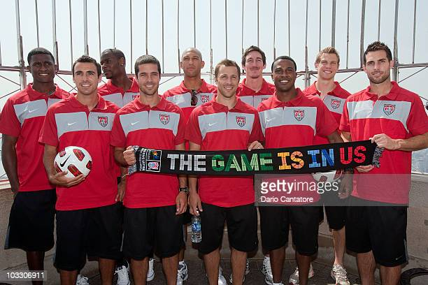 From the USA National Soccer team Edson Buddle Jonathan Bornstein Maurice Edu Benny Feilhaber Tim Howard Steve Cherundolo Sacha Kljestan Robbie...