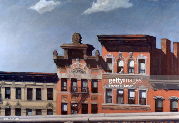 From Williamsburg Bridge by Edward Hopper
