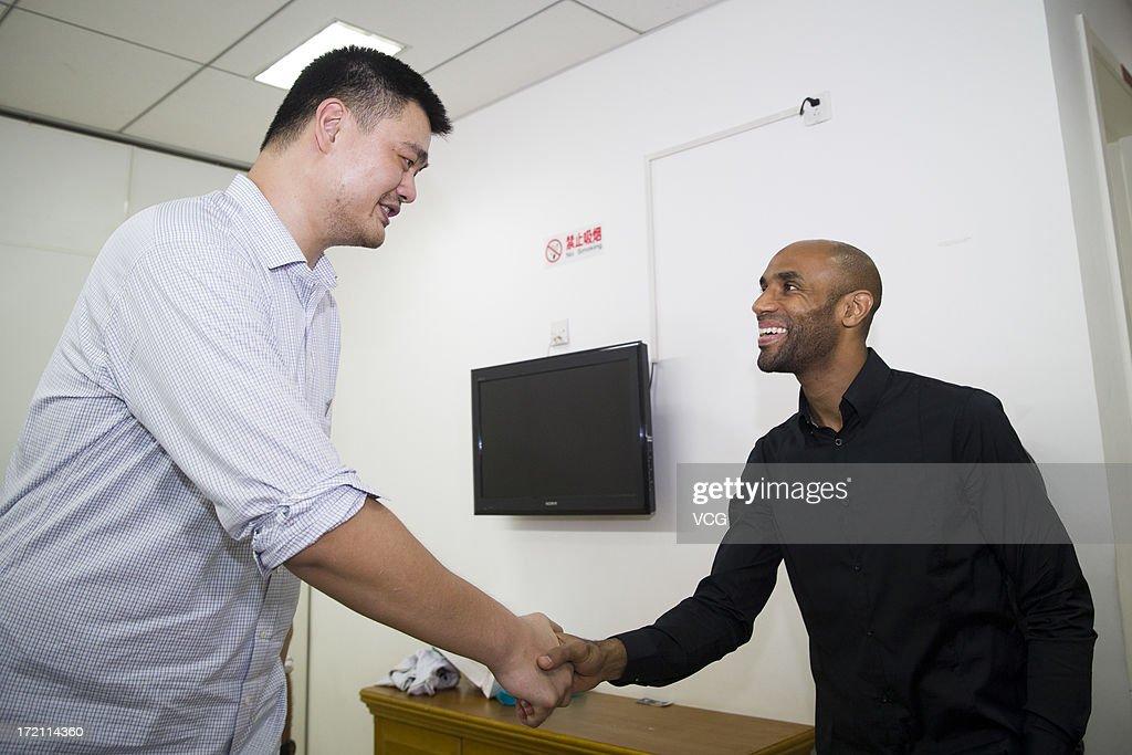 2013 Yao Foundation Charity Game - China v NBA Stars