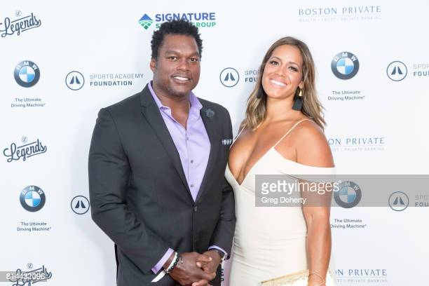 Fromer NFL PLayer LaVar Arrington attends the Sports Academy Foundation 50 For 50 at Manhattan Country Club on July 13 2017 in Manhattan Beach...