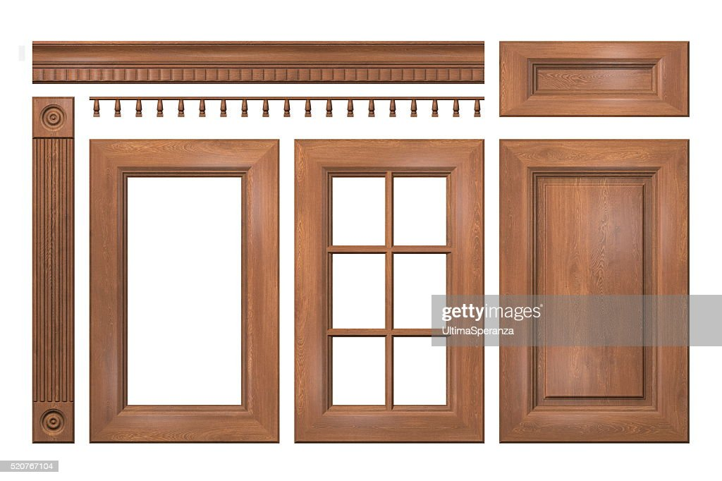... Front collection of isolated wooden doors for kitchen cabinet ...  sc 1 st  FreeImages.com & Free door furniture Images Pictures and Royalty-Free Stock ... pezcame.com