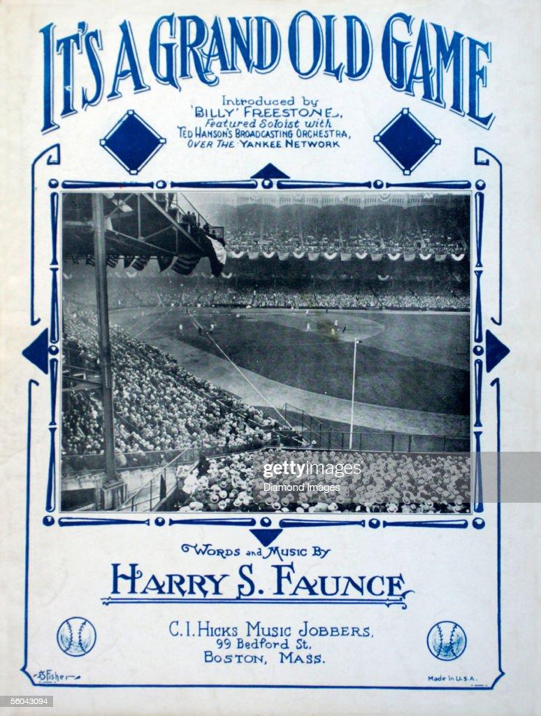 1923 World Series Memorabilia - New York Giants v New York Yankees : News Photo