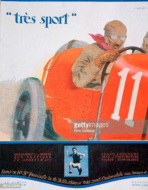 Front cover illustration from the magazine 'Tres Sport' July 1922