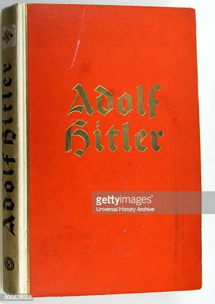 Front cover of a collector album on Adolf Hitler 18891945 published by a cigarette company He was chancellor of Germany from 1933 to 1945 and...