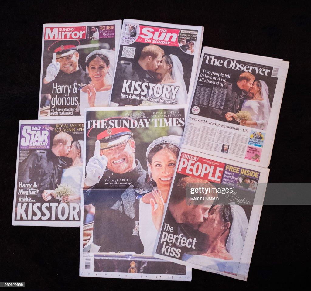 Royal Wedding Headlines in United Kingdom Newspapers
