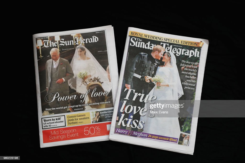 Royal Wedding Headlines in Australian Print Media