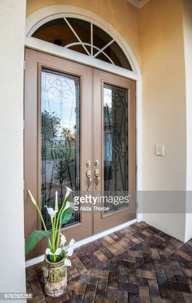 Front Door Closed at Angle
