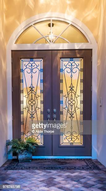 Front Door Evening
