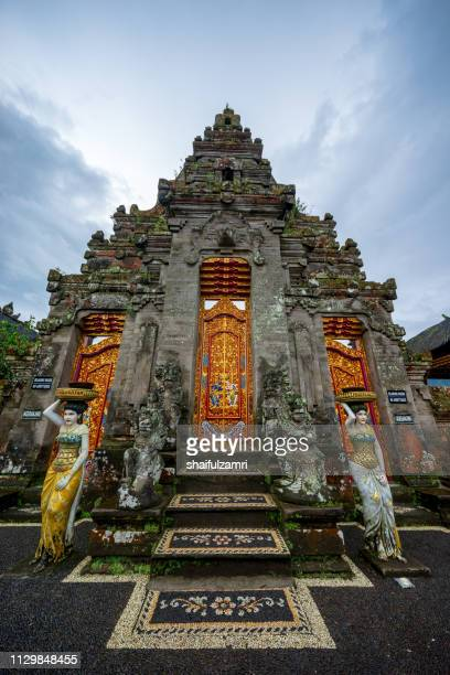 Front door for one of temple in Pura Ulun Danu Bratan
