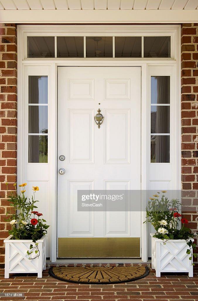 Front door of Home : Stock Photo