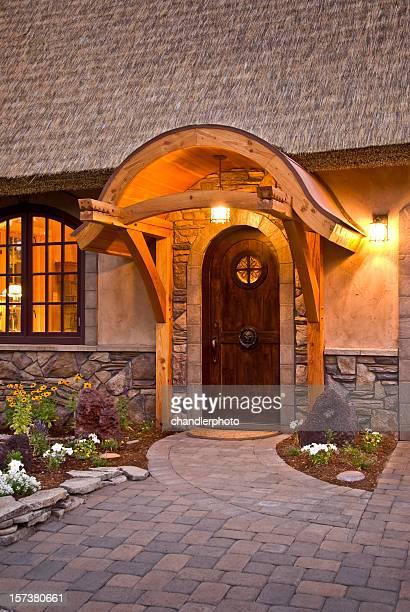 Tür alten englischen Landhaus