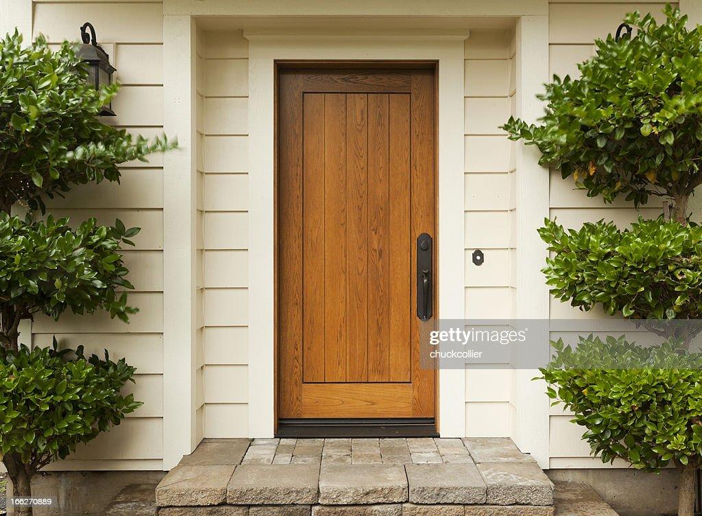 Front Door : Stock Photo