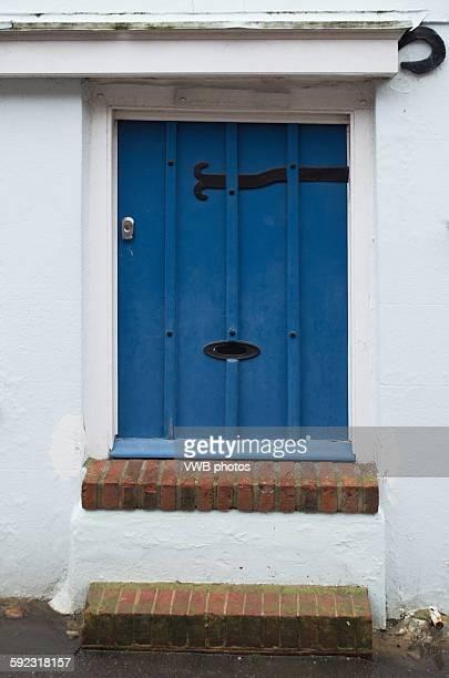 Front Door with Flood Defences, Bosham, East Susse