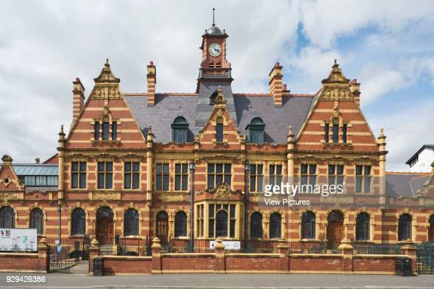 Front elevation across Hathersage Road Victoria Baths Manchester United Kingdom Architect Henry Price 1906