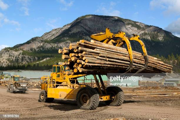 front end log loader