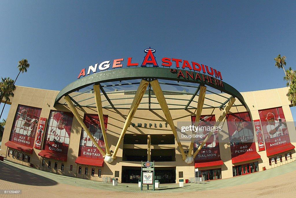 Angel Stadium of Anaheim : ニュース写真