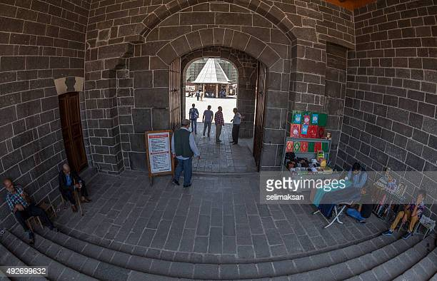 Front entrance of Grand Mosque,Diyarbakir