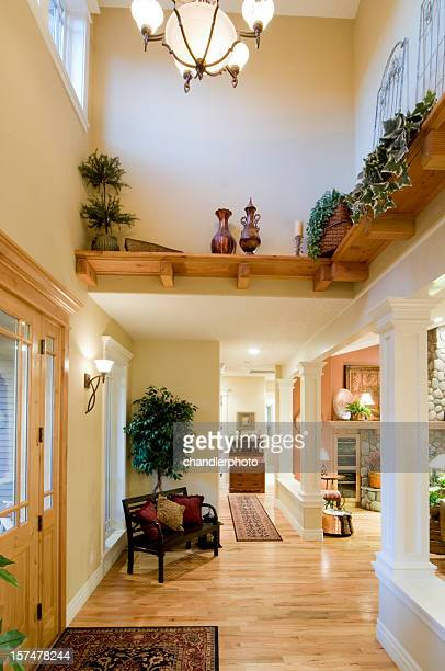 front entrance strong vertical - persian rug stock photos and pictures