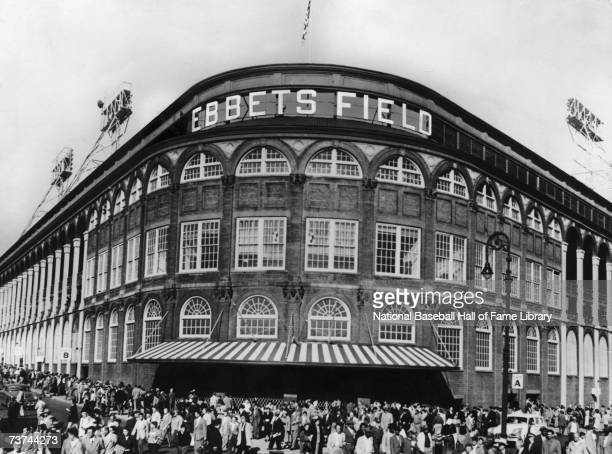 ebbets field stock   pictures getty images