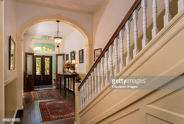 Front Hall Foyer and stairs Rachel Dowry's BB Baltimore MD