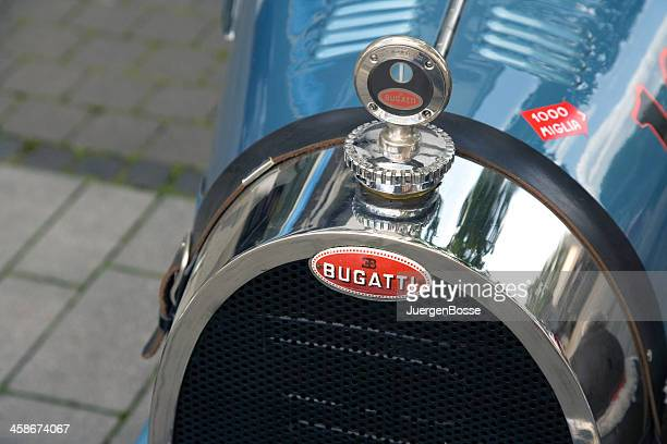 front of a bugatti from 1929 - bugatti stock photos and pictures