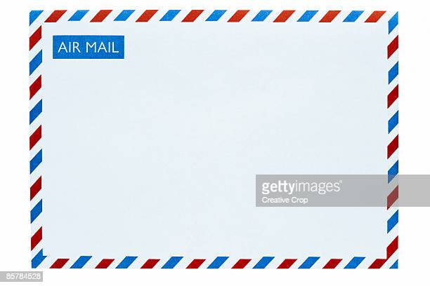 Front of an airmail envelope