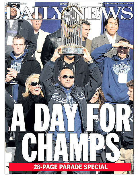 Front Page wrap for the Daily News of November 7, 2009 , Hea