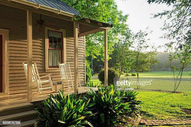 Front porch in Morning
