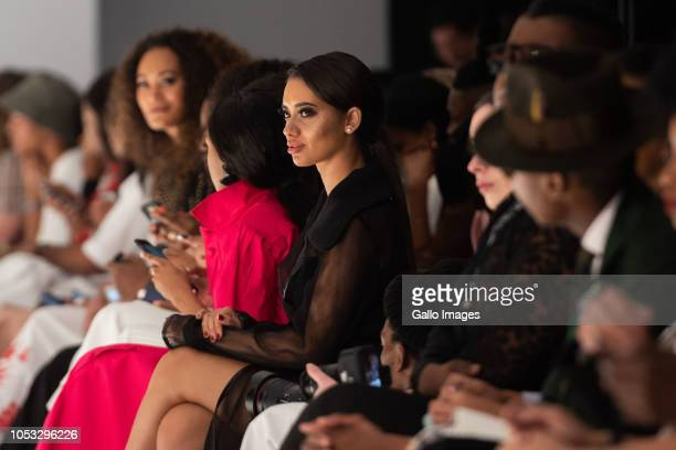 Front row at the Solo show by THE WATERMELON SOCIAL CLUB for WOOLWORTHS STYLE BY SA show during Day 1 of the SA Fashion Week Autumn/Winter 2019...