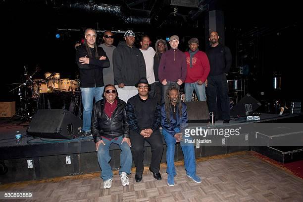 Badal Roy Nicholas Payton Robert Irving III Back Row Mino Cinelu DJ Logic Vince Wilburn Jr Munyungo Jackson Blackbyrd McKnight John Beasley Darryl...