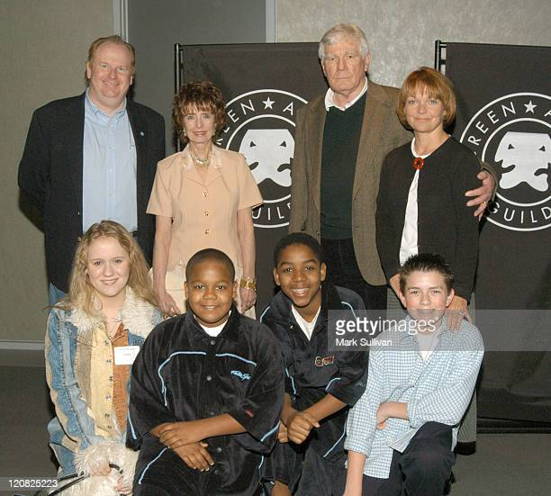 Front Row LtRt Aria Noelle Curzon Kyle Massey Chris Massey and Ryan Sparks Back Row LtRT David Jolliffe Margaret O'Brien Mitchelle Ryan and Pamela...