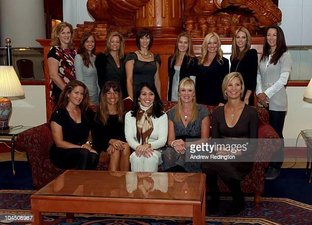 Front row Michelle Mell Melissa Lehman Lisa Pavin Robin Love Angie Watson Back row Kim Johnson Amanda Caulder Tabitha Furyk Lisa Cink Alexandra...