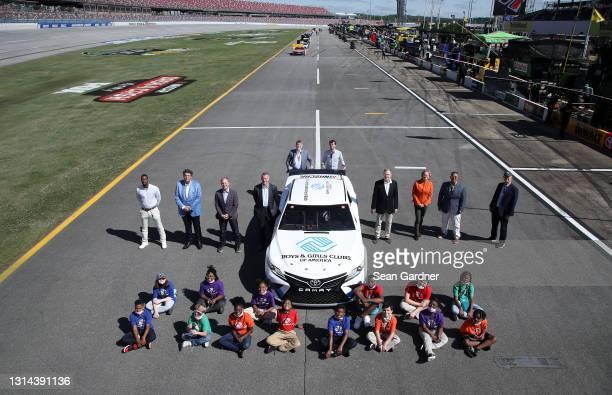 Front Row NASCAR Vice President, Diversity and Inclusion Brandon Thompson, NASCAR Senior Advisor Mike Helton, FOX Sports CEO and Executive Producer...
