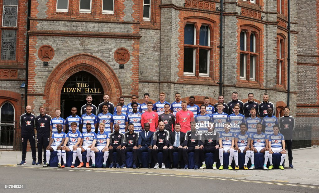 Reading Football Club Official Team Photograph and Head Shots : News Photo